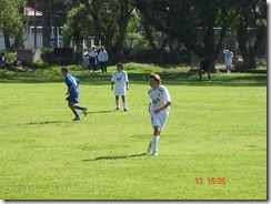 Playing at LDU Soccer Team - 16 years - May.2006 - #3